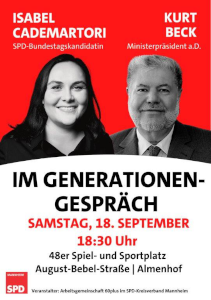 Bild: AG 60plus im SPD-Kreisverband Mannheim
