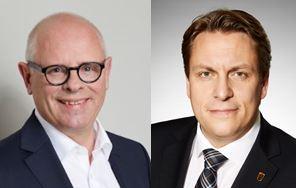 Bernhard Boll (Bezirksbeirat) und Boris Weirauch MdL
