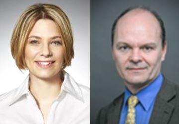 Lena Kamrad und Dr. Peter Schäfer, © Stadt Mannheim